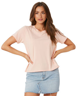 PINK WOMENS CLOTHING AS COLOUR TEES - 4003PINK
