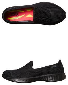 BLACK WOMENS FOOTWEAR SKECHERS SNEAKERS - 14170BBK