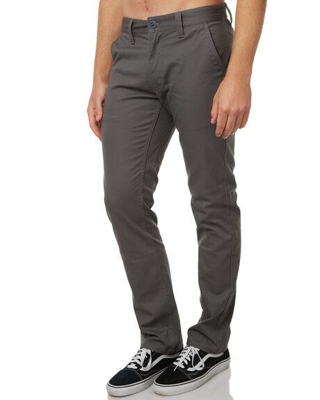 CHARCOAL MENS CLOTHING BRIXTON PANTS - 04044CHA