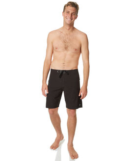 BLACK MENS CLOTHING BANKS BOARDSHORTS - BS0091BLK