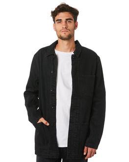 ZERO BLACK RINSE MENS CLOTHING NEUW JACKETS - 334384757