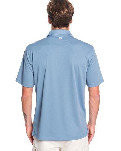BLUE SHADOW MENS CLOTHING QUIKSILVER SHIRTS - EQMKT03046-BKQ0