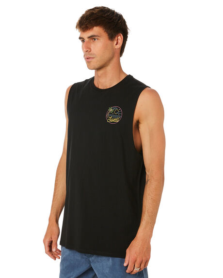 BLACK MENS CLOTHING SWELL SINGLETS - S5212276BLACK