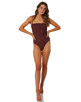 RUBY WINE WOMENS SWIMWEAR BILLABONG ONE PIECES - 6581709RW2