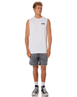 WHITE MENS CLOTHING SWELL SINGLETS - S5201273WHITE