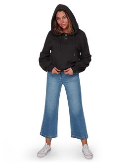OFF BLACK WOMENS CLOTHING BILLABONG JUMPERS - BB-6508736-OFB