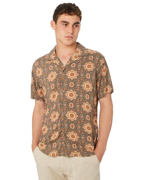 TEAL MENS CLOTHING RHYTHM SHIRTS - OCT18M-WT05-TEA