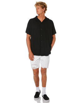 BLOWOUT WHITE MENS CLOTHING ROLLAS SHORTS - 15714C4484