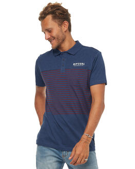 DARK BLUE MARLE MENS CLOTHING RIP CURL SHIRTS - CPLCF14805