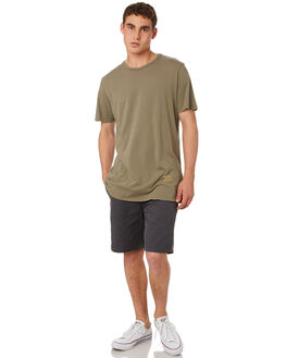 OLIVE MENS CLOTHING OUTERKNOWN TEES - 12151302OLV