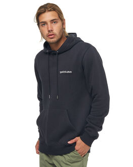 BLACK MENS CLOTHING QUIKSILVER JUMPERS - EQYFT03758KVJ0