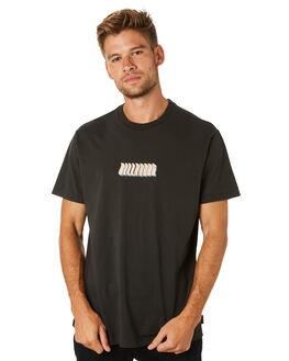 BLACK MENS CLOTHING BILLABONG TEES - 9595015BLK