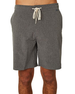 BLACK HEATHER MENS CLOTHING HURLEY SHORTS - AV6231032