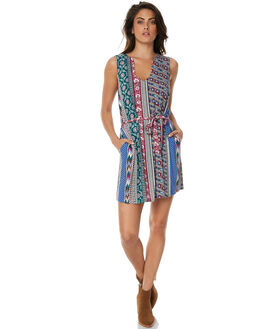 MULTI WOMENS CLOTHING TIGERLILY DRESSES - T371437MUL