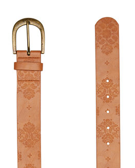 TAN WOMENS ACCESSORIES RIP CURL BELTS - GBEAS11046