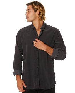 DARK CHARCOAL MENS CLOTHING VOLCOM SHIRTS - A0512002DCR