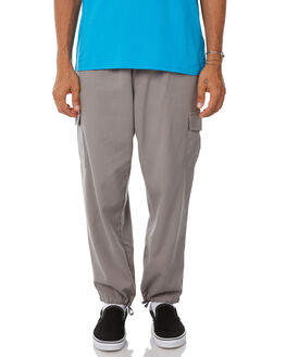 GREY MENS CLOTHING POLAR SKATE CO. PANTS - PSC-CARGO-GRY
