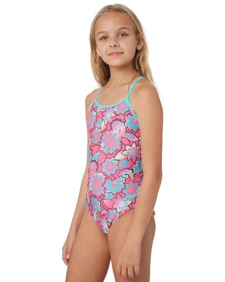 YAROOMBA FLORAL KIDS GIRLS ZOGGS SWIMWEAR - 5448200YRBM