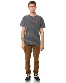 INDIGO MENS CLOTHING THE CRITICAL SLIDE SOCIETY TEES - TE1823IND