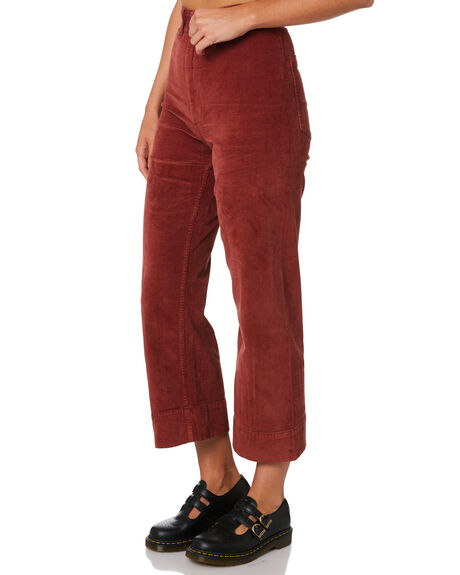 BLOOD RED WOMENS CLOTHING THRILLS JEANS - WTA9-414HBRED