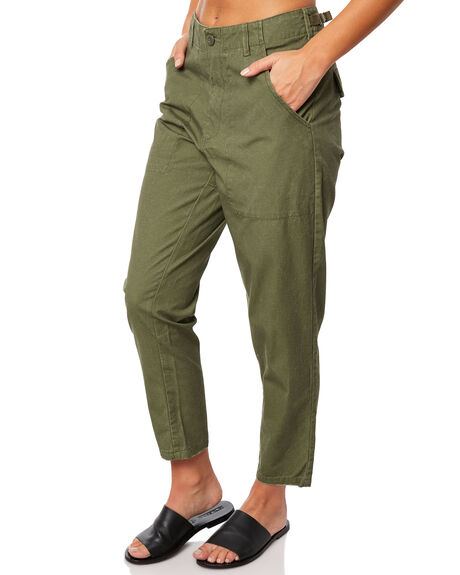 OLIVE WOMENS CLOTHING THE HIDDEN WAY PANTS - H8183192OLIVE