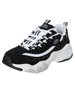 BLACK WOMENS FOOTWEAR SKECHERS SNEAKERS - 12955BKW