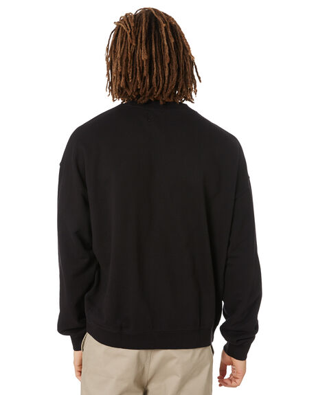CK BLACK MENS CLOTHING CALVIN KLEIN JUMPERS - J30J317062BEH