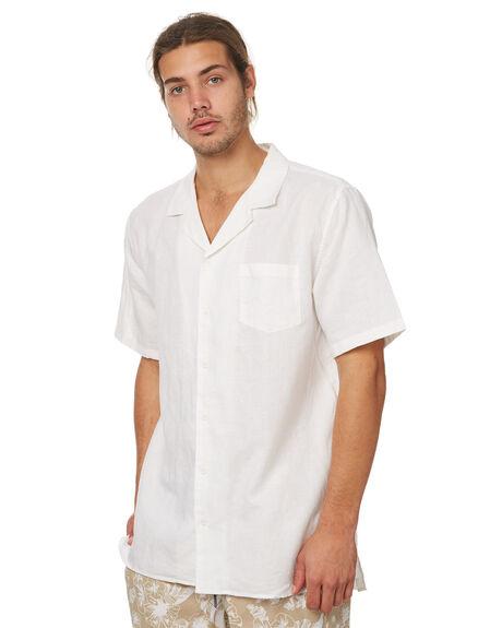 WHITE MENS CLOTHING ZANEROBE SHIRTS - 308-TDKWHT