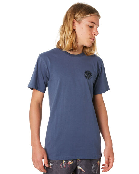 SLATE BLUE KIDS BOYS RIP CURL TOPS - KTEJI91115