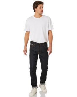 DRY JAPAN SELVAGE MENS CLOTHING NUDIE JEANS CO JEANS - 112019JPSEL