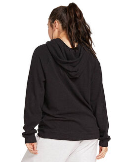 BLACK WOMENS CLOTHING VOLCOM JUMPERS - CB3111801BLK