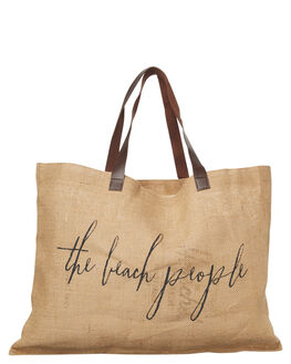 NATURAL WOMENS ACCESSORIES THE BEACH PEOPLE BAGS - ORGJUTEBGNAT