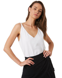 WHITE WOMENS CLOTHING RIP CURL FASHION TOPS - GSHFY11000