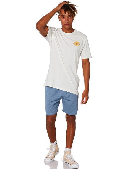 NATURAL MENS CLOTHING STAY TEES - STE-20403NAT