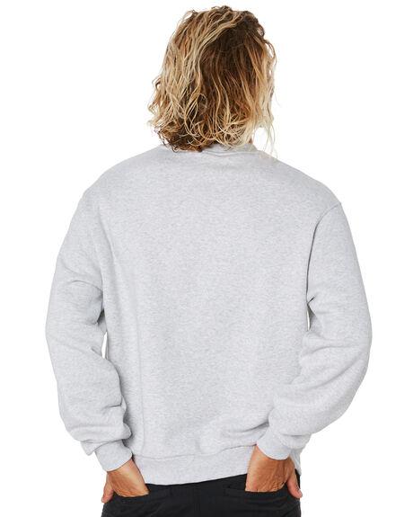 LIGHT GREY HEATHER MENS CLOTHING ADIDAS JUMPERS - FM1426LGRYH