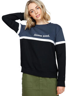 BLACK WOMENS CLOTHING ELEMENT JUMPERS - 293301BLK