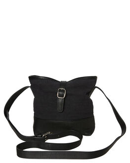BLACK WOMENS ACCESSORIES RUSTY BAGS + BACKPACKS - BFL1023BLK