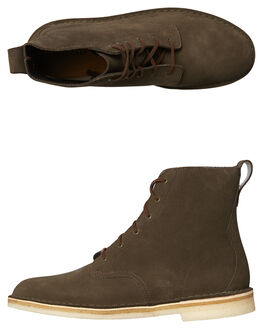 PEAT MENS FOOTWEAR CLARKS ORIGINALS BOOTS - SS26128272PEATM