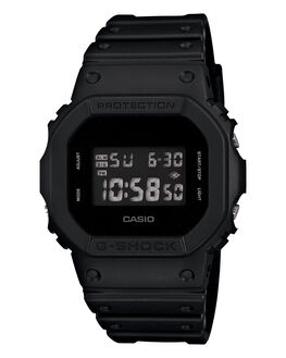BLACK MENS ACCESSORIES G SHOCK WATCHES - DW5600BB-1EBLK
