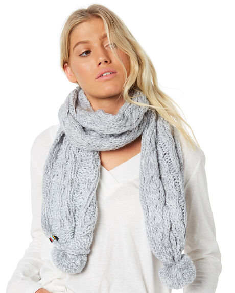 GREY MARLE WOMENS ACCESSORIES RUSTY SCARVES + GLOVES - MAL0388LGM