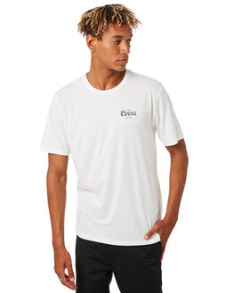OFF WHITE MENS CLOTHING BRIXTON TEES - 16197OFFWH