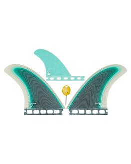 SEAFOAM BOARDSPORTS SURF CAPTAIN FIN CO. FINS - CFF2411706SEA