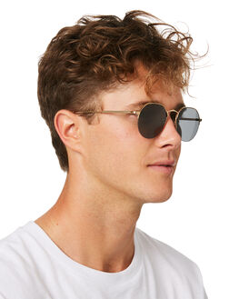 GOLD WIRE CLEAR MENS ACCESSORIES CRAP SUNGLASSES - JOYBR700PGGLDWC