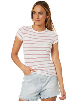 STRIPE WOMENS CLOTHING SWELL TEES - S8188001STRIP