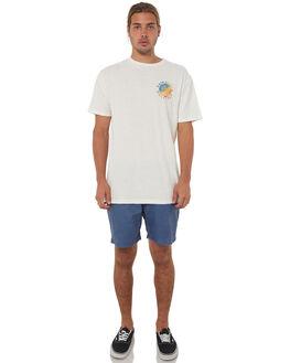 SNOW WHITE MENS CLOTHING QUIKSILVER TEES - EQYZT04766WBK0