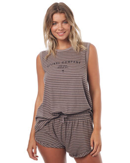 CLAY WOMENS CLOTHING THRILLS SINGLETS - WTS7-118GCLAY