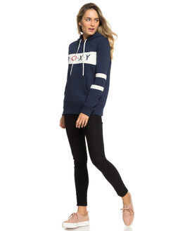 DRESS BLUES WOMENS CLOTHING ROXY JUMPERS - ERJFT03925-BTK0