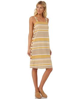 GOLDEN TONES WOMENS CLOTHING SAINT HELENA DRESSES - SHS18813GOLD
