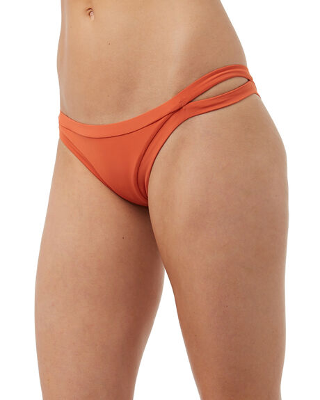 TANGELO WOMENS SWIMWEAR RHYTHM BIKINI BOTTOMS - SWM00W-S121TAN