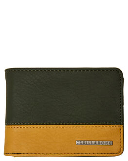MILITARY CARMEL MENS ACCESSORIES BILLABONG WALLETS - 9681193EMILCA